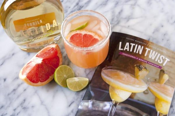 partida tequila latin twist reposado paloma