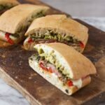 Baked Ham and Chimichurri Panini