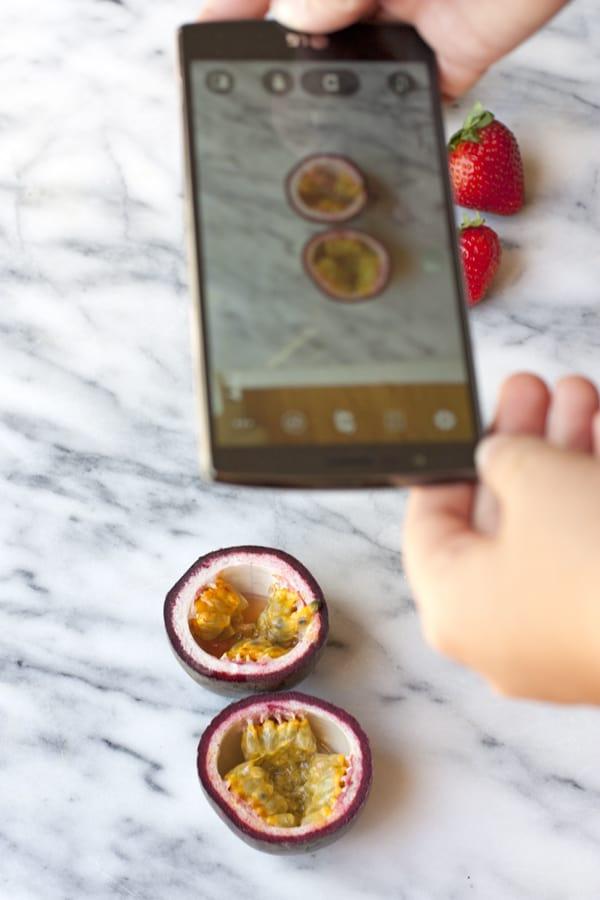 LG G4 food photography