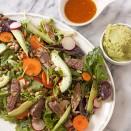 Spring Salad with Carne Asada