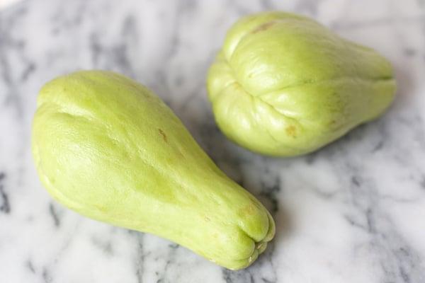chayote pear squash mirliton