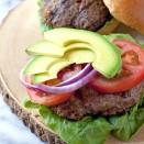 chorizo enchilado burger