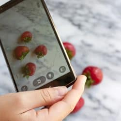 phone food photography
