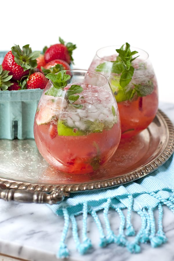 Strawberry and Passion Fruit Caipirinha - Muy Bueno Cookbook
