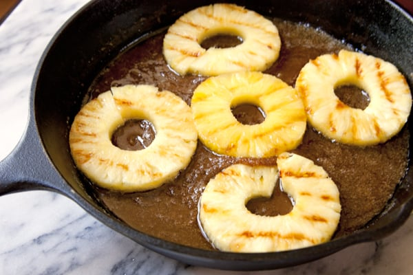 buttery brown sugar pineapples