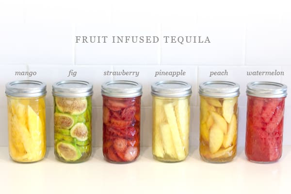 infused tequila