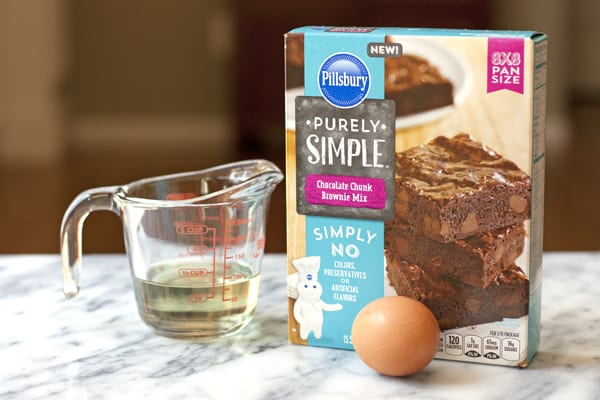 purely simple brownie mix
