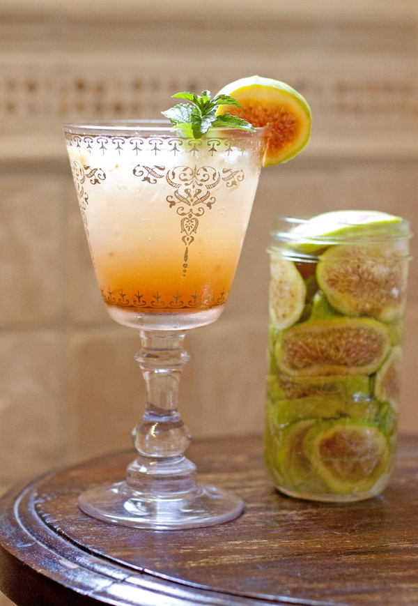 tequila infused fig margarita