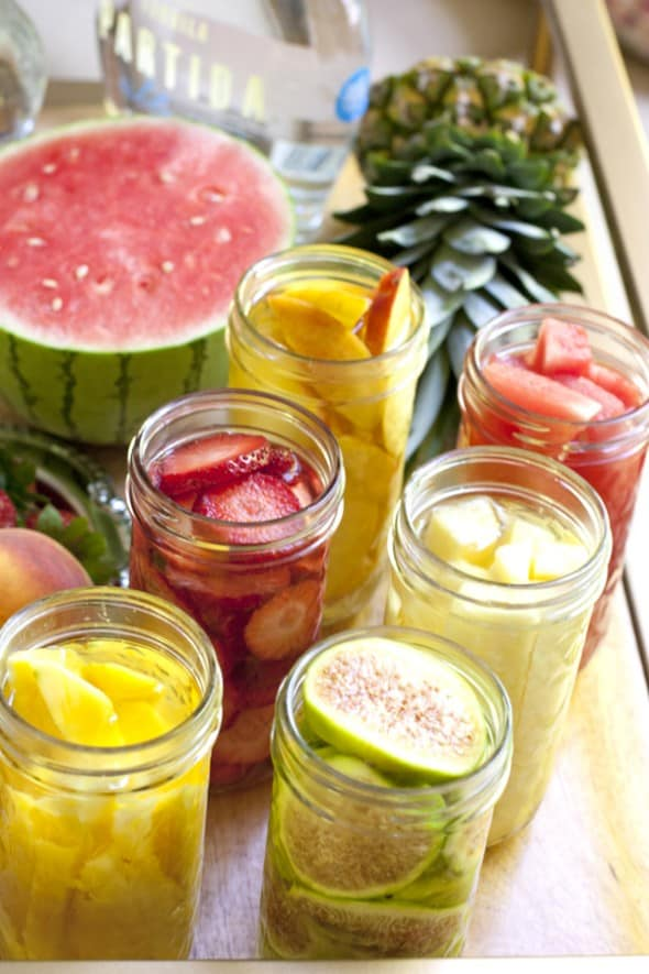 Fruit Infused Tequila