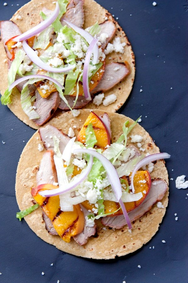Soft Tacos with Orange Pork