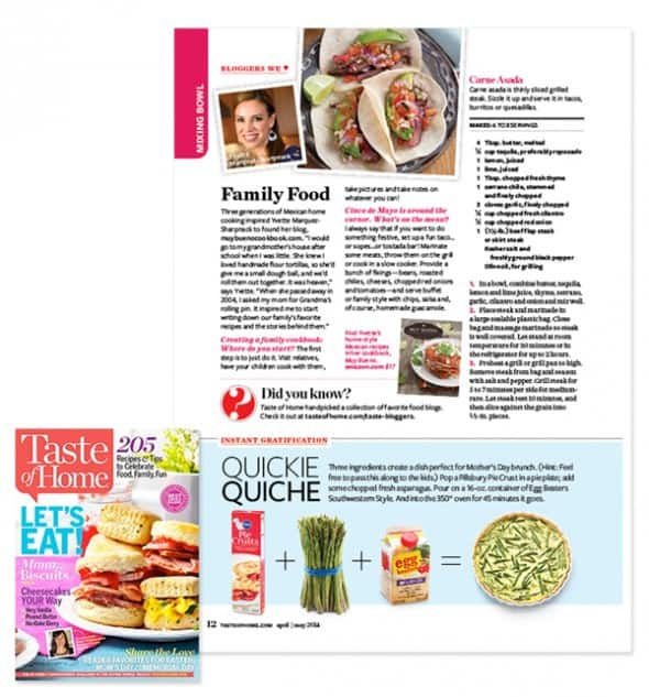 Taste of Home April 2014 small