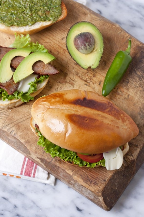 Tri-Tip Sandwich with Chimichurri Sauce