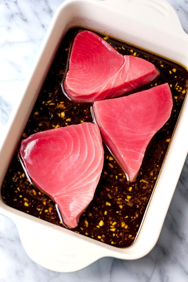 Marinade for Seared Ahi Tuna