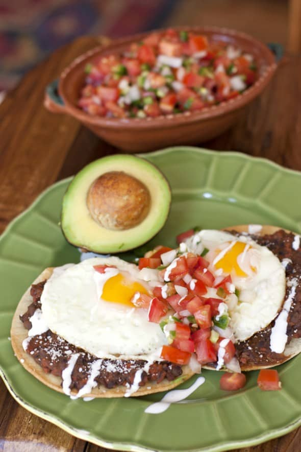Huevos Rancheros with Chorizo Refried Black Beans + California Events ...