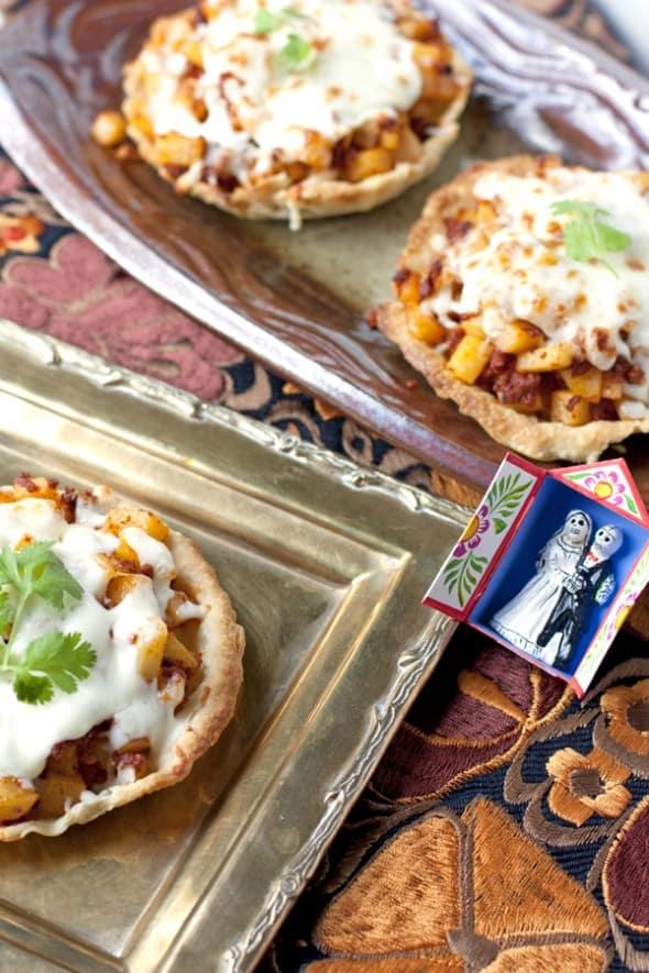 Potatoes and Chorizo Tarts