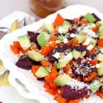 Roasted Butternut Squash and Beet Salad
