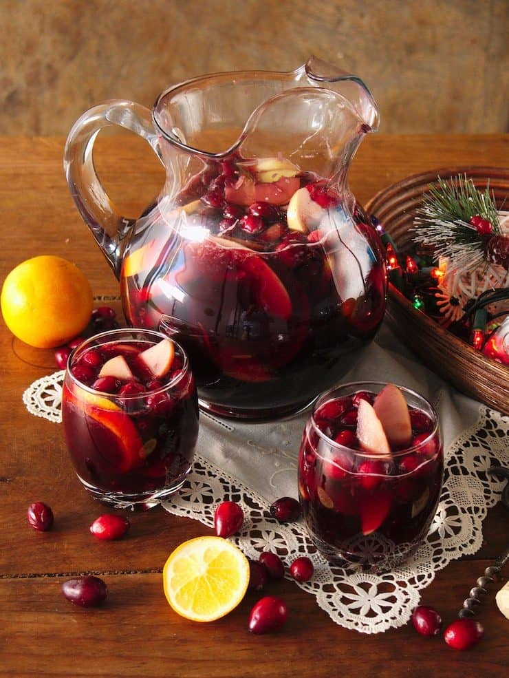 Christmas Thanksgiving Sangria