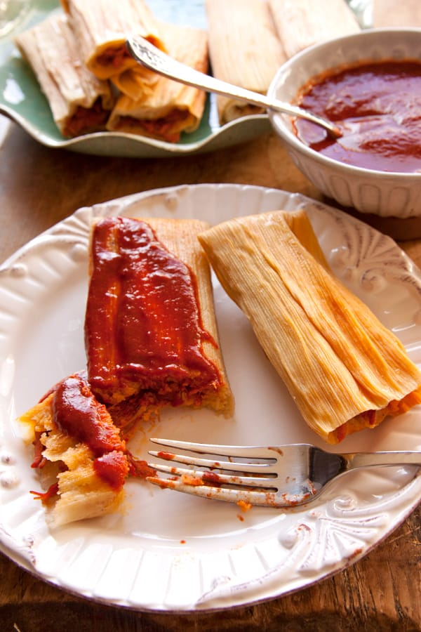 red-chile-pork-tamales