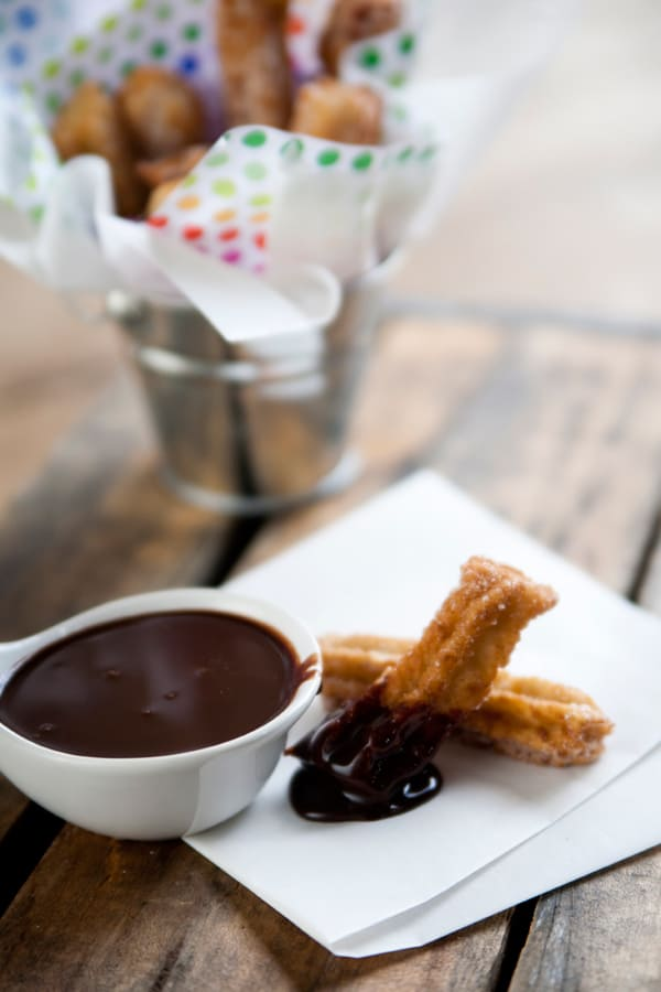 Homemade-churros-and-Mexican-chocolate