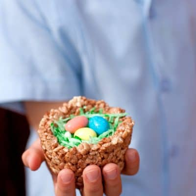 Rice-Krispies-Easter-Nests