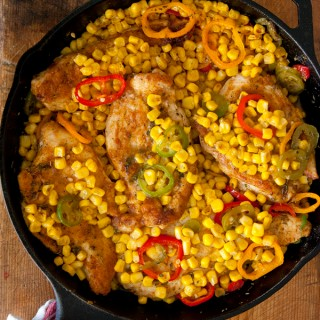 one-skillet-chicken-Mexican