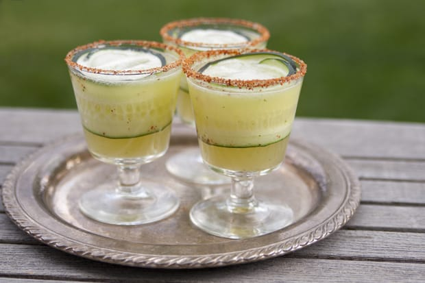 cucumber mint margarita