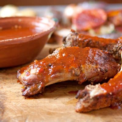 Barbecue-pork-ribs-oven-baked