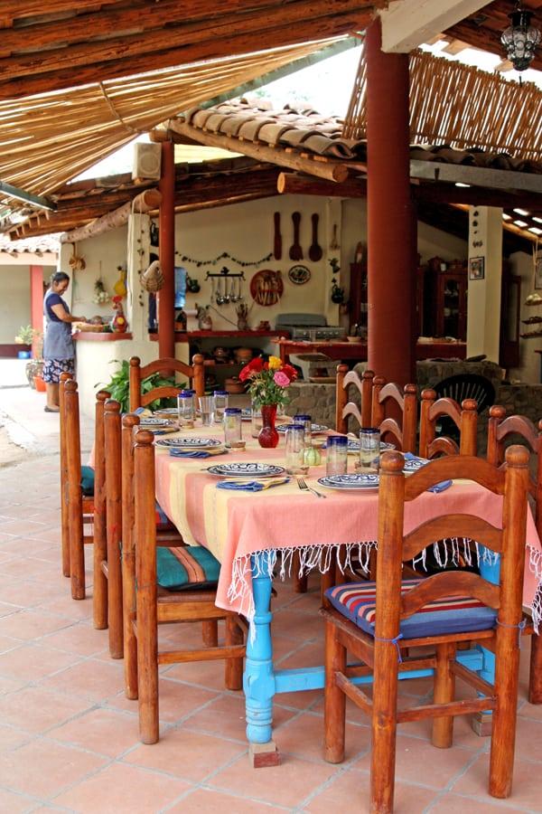 Reyna Mendoza Outdoor Kitchen Oaxaca