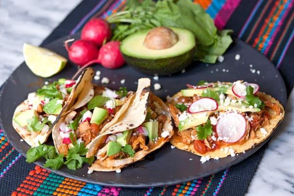 chicken-tinga-tacos-tostadas