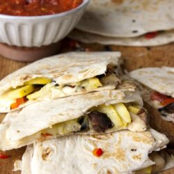 roasted-squash-and-mushroom-quesadillas