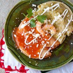 shrimp-enchiladas