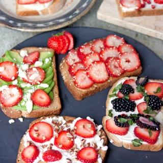 strawberry-toast