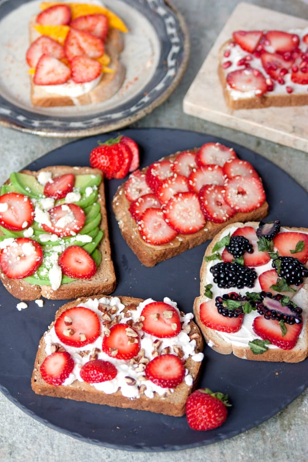 strawberry-toast