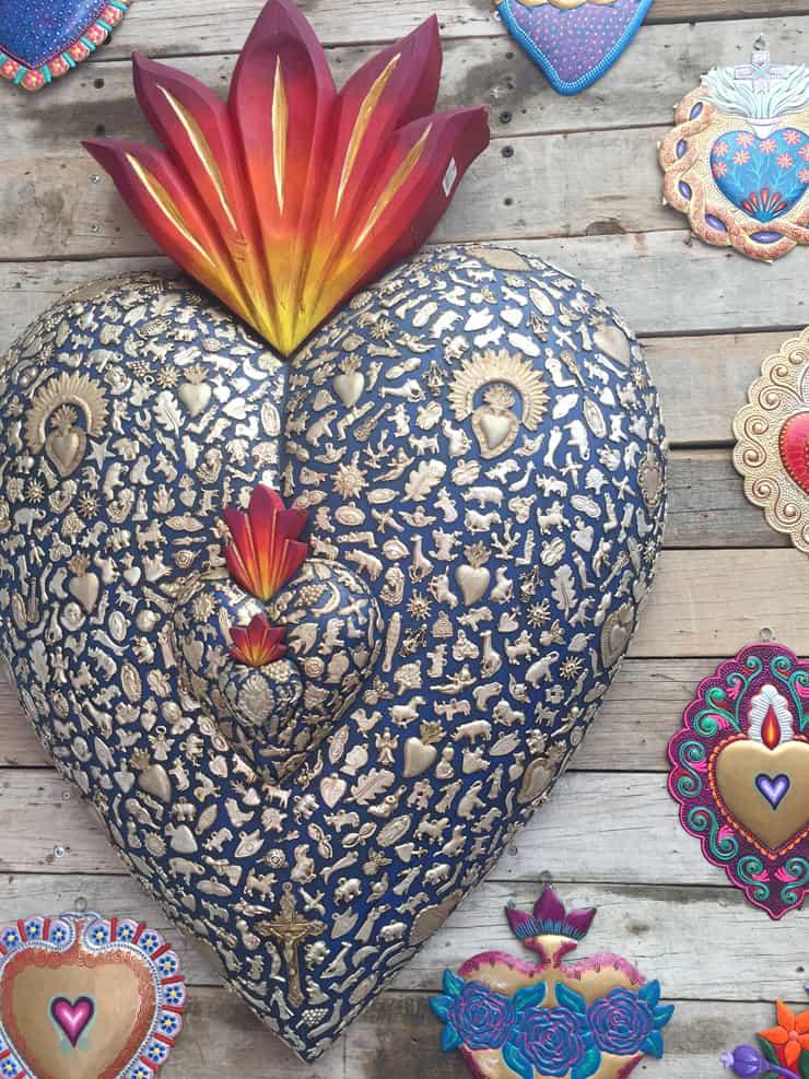corazon-heart-mexican-folk-art