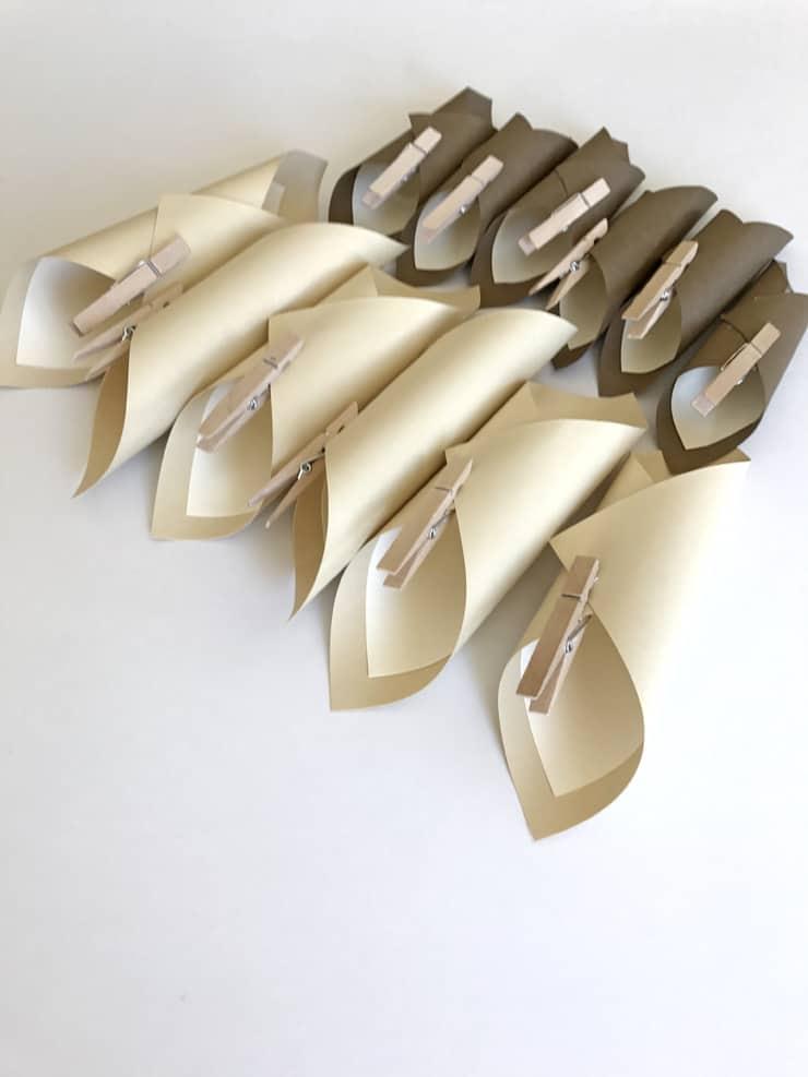 paper-cones
