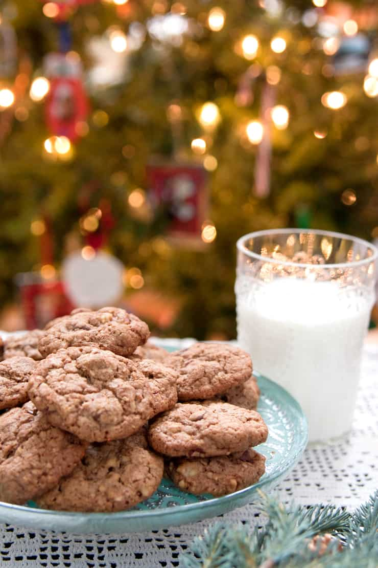 Mexican Chocolate Oatmeal Cookies - Muy Bueno Cookbook