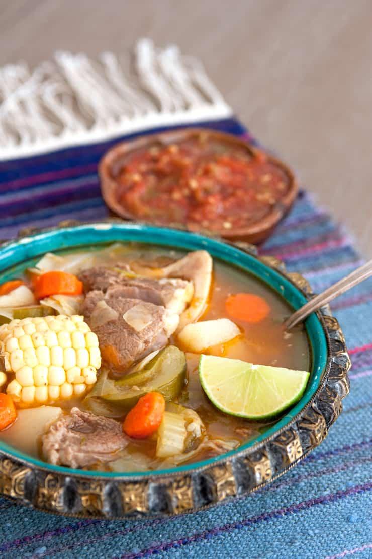 Caldo de Res Beef Soup