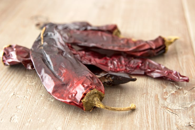 dried chile pods