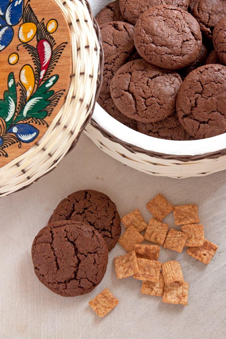 Mexican Chocolate Cinnamon Toast Crunch Cookies