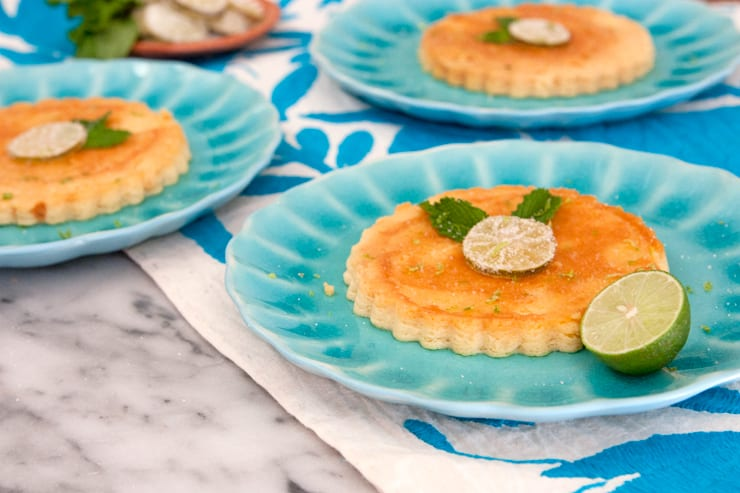 key lime cheesecake flan