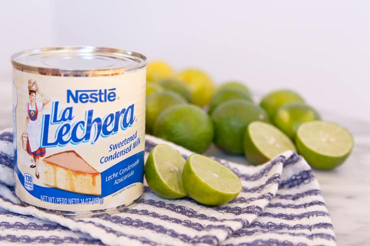 La Lechera sweetened condensed milk key limes