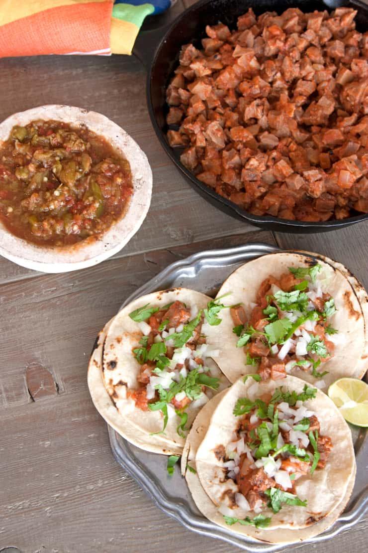 Beef Tacos de Lengua - Muy Bueno Cookbook