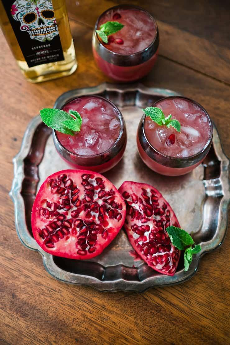 Pomegranate-Grapefruit Paloma