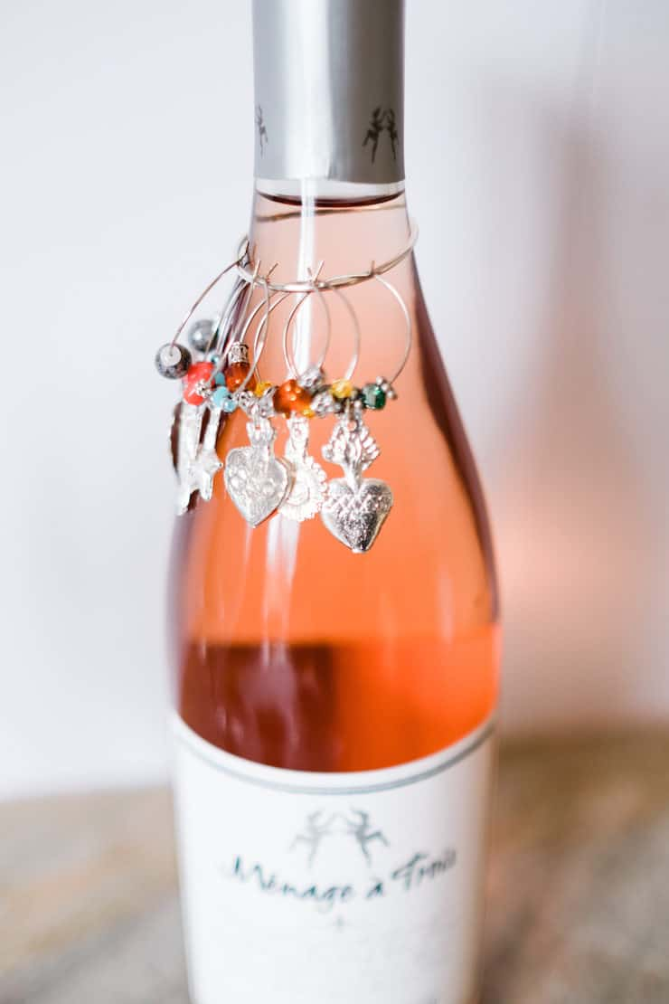Milagro wine charms