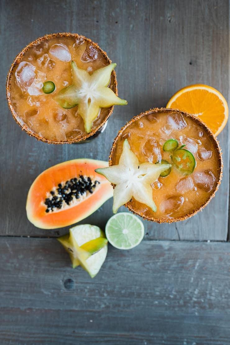 Papaya Margaritas