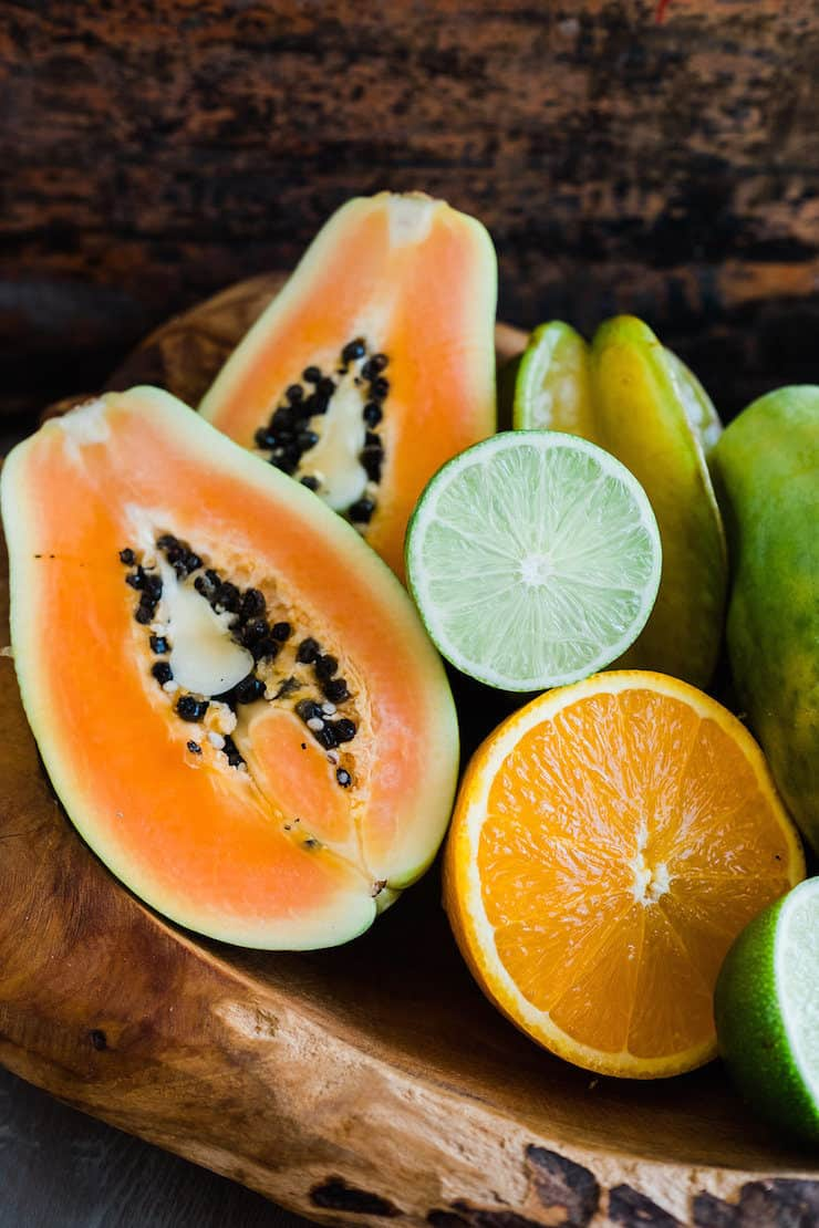 tropical and exotic fruits for margaritas