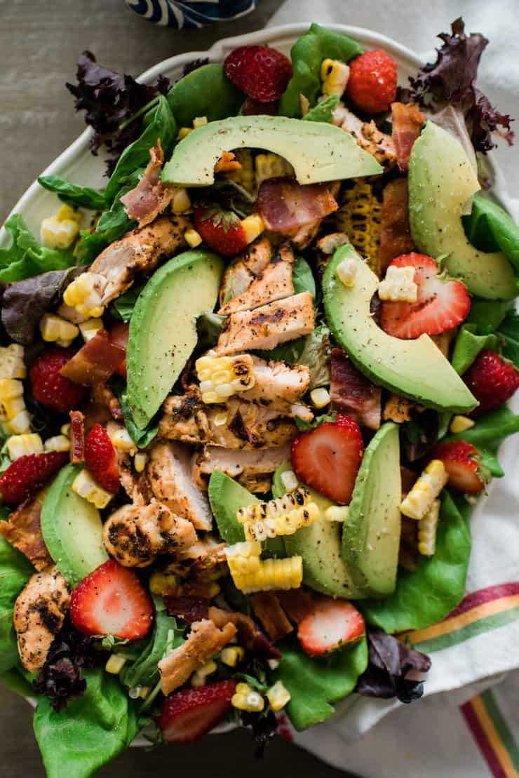 Summer Chipotle Chicken Cobb Salad
