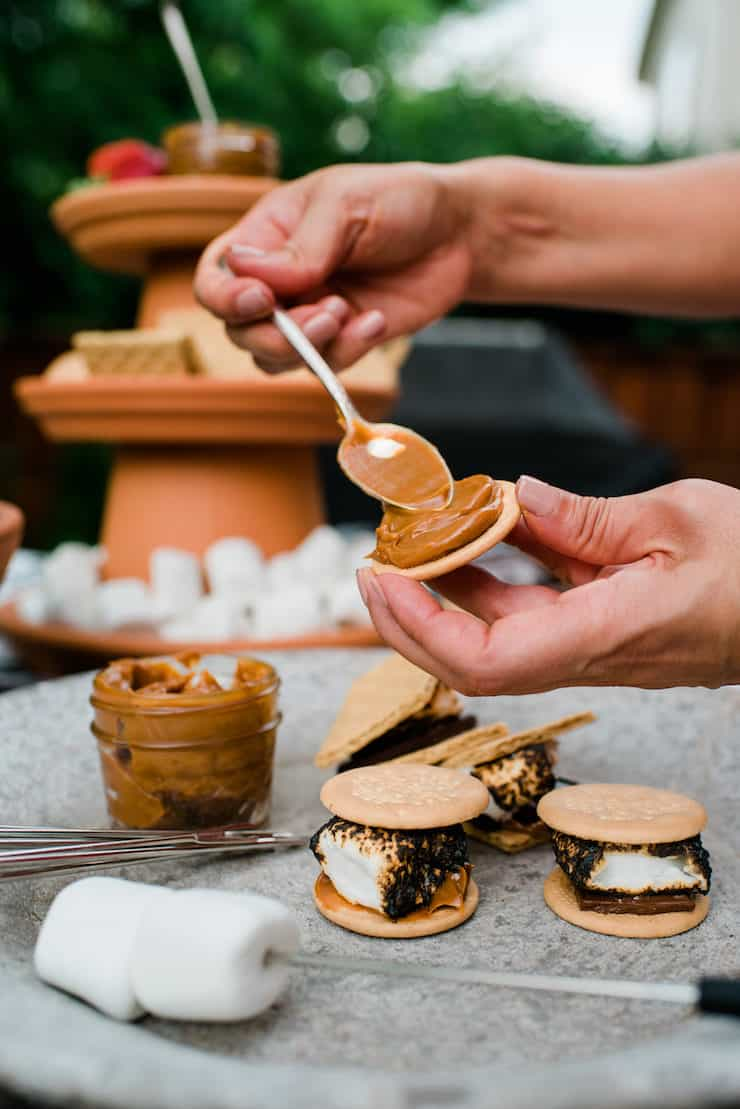 The Ultimate S'mores Bar