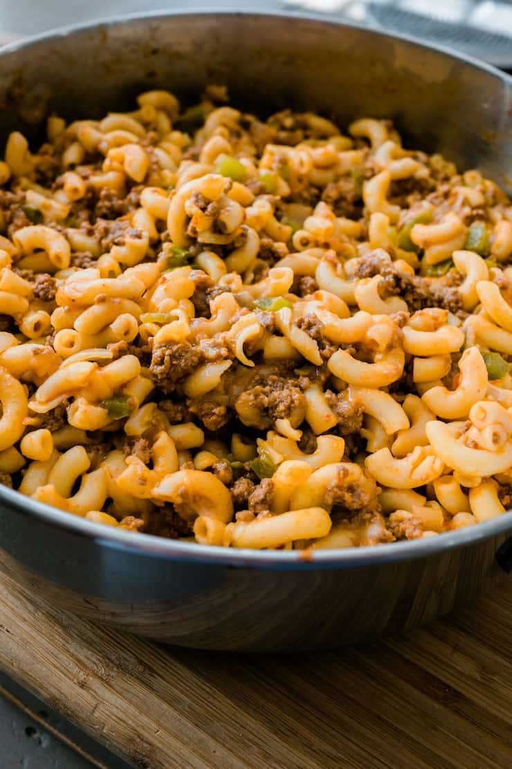 Macaroni And Cheese With Ground Bison Muy Bueno Cookbook