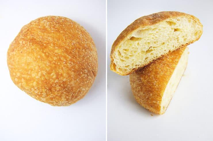 Hojaldras pan dulce
